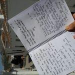 olive retreat testimonial hand written